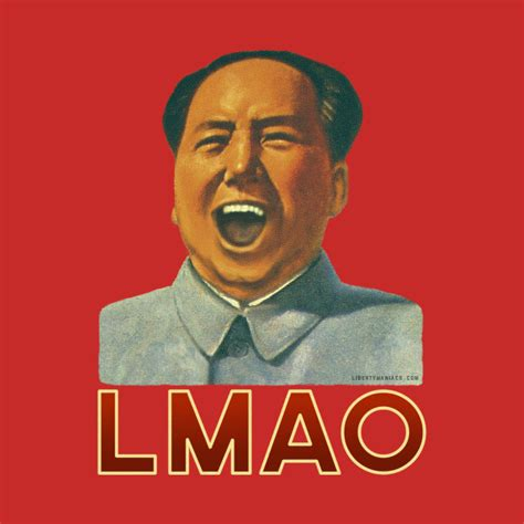 Wall Designs Stickers chairman lmao laughing t shirt teepublic