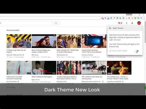 youtube dark layout updated youtube layout with dark mode option and material