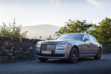 roll royce road rolls royce ghost black badge provides perfect luxury