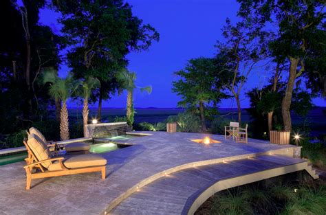Pool Patio Lighting Landscape Lighting Dazzle Up Your Outdoor Space