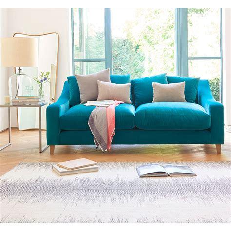blue velvet sofa bed velvet sofas our of best ideal home