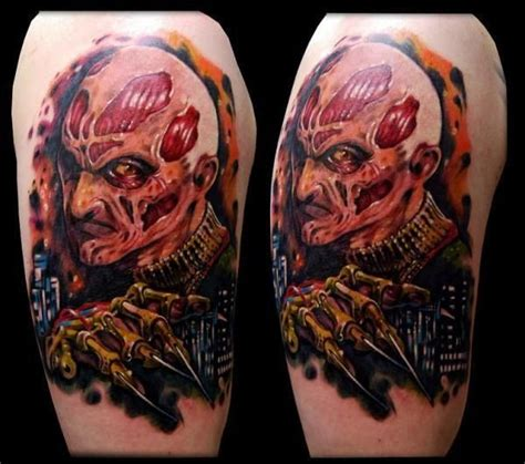 movie tattoos terrifying horror tattoos neatorama
