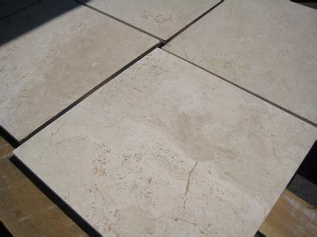 sierra  filled honed travertine