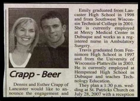 Epic Wedding Announcement by 29 Epic Wedding Last Name Fails The Gossip