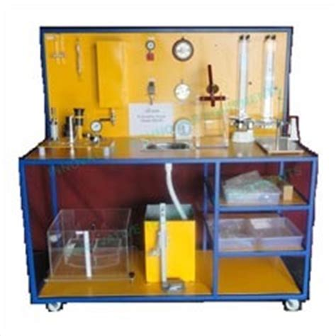 hydrostatic test bench hydrostatic bench fluid mechanics laboratory equipments
