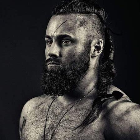 male warrior braids male viking braided hairstyles hair