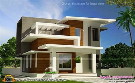 modern contemporary house plans kerala lovely september free plan of contemporary home kerala home design