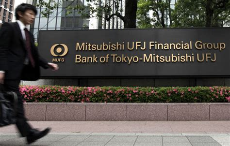 mitsubishi ufj financial looking for deals