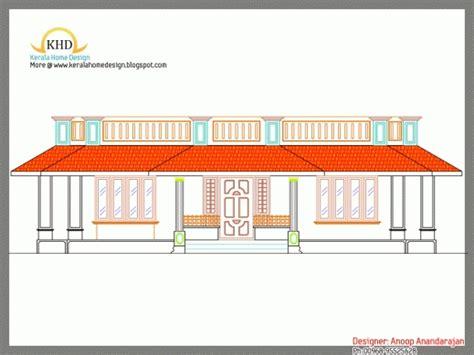 Kerala House Single Floor Plans With Elevations single floor house plan with elevation