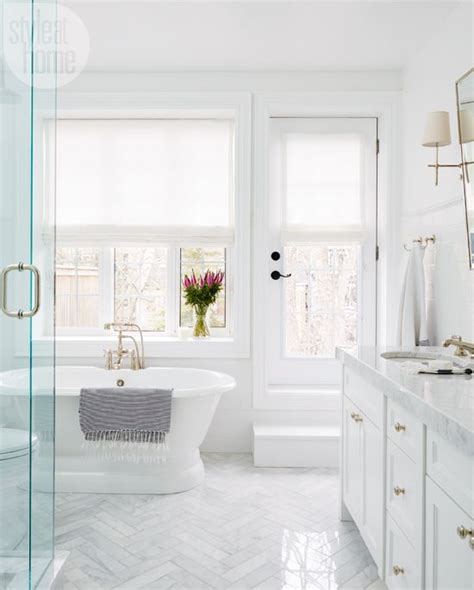 stylish white bathroom designs  pictures