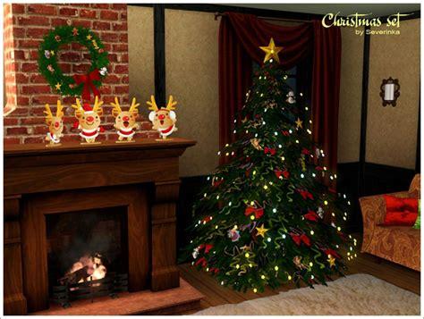 empire sims 3 christmas decor set by severinka