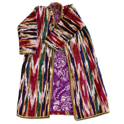 uzbek silk ikat dress ethnic in fashion uzbekistan 450 best ikat robes images on pinterest