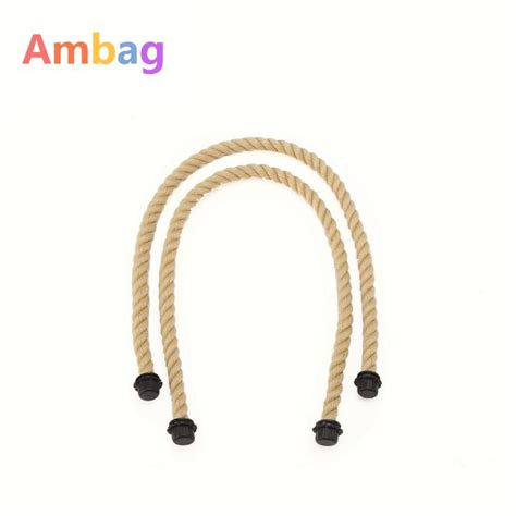 1 pair hemp rope handles for ambag accessories diy s