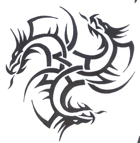 Dragon Tattoo Meaning Strength | strength dragon tattoo echomon