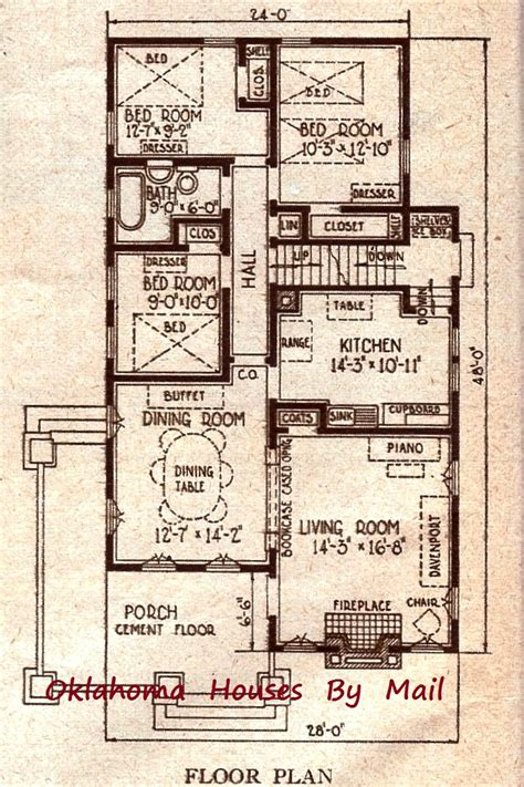 sears floor plans a sears avalon in perry oklahoma oklahoma houses by mail
