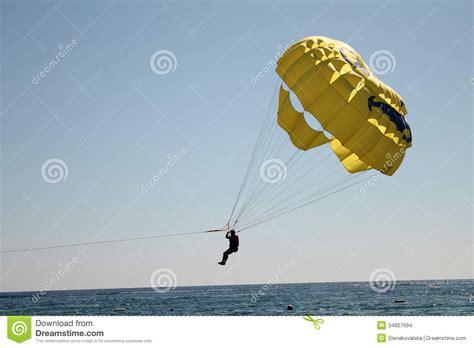 boat parachute parachute stock images image 34807694