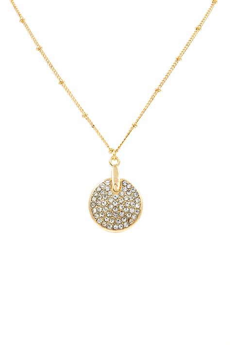 Rhinestone Pendant rhinestone disc pendant necklace necklaces