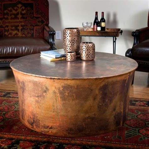 Drum Tables Living Room by Jatex Copper 42 Quot X 18 Quot Drum Coffee Table 22315