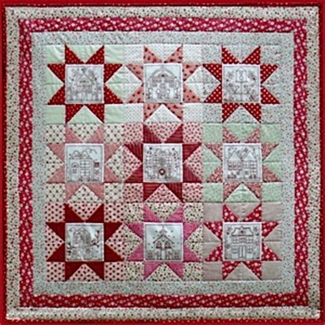 the patchwork quilt pattern by rosalie