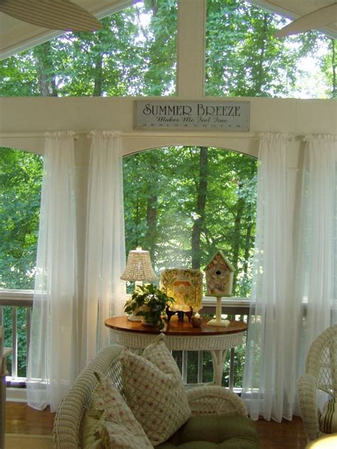 screened porch curtains between naps on the porch hooked on houses