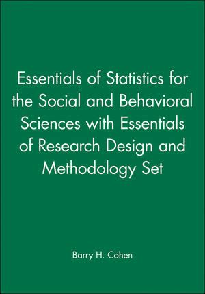 essentials of statistics for the behavioral sciences wiley essentials of statistics for the social and