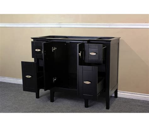 44 inch bathroom vanity cabinet bellaterra home 7614 es 44 inch single sink vanity wood