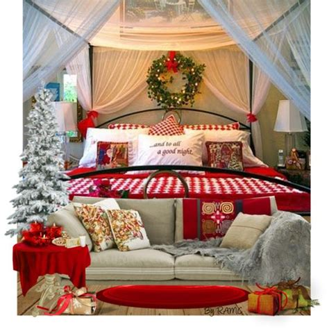 christmas bedroom decorations christmas bedroom bedroom decor and bedrooms on pinterest