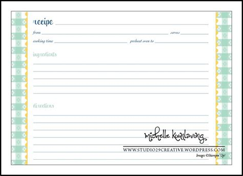 free recipe cards template 103 best free recipe cards pages images on