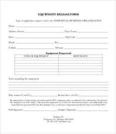 Release Equipment Letter Release Form Template 10 Free Sle Exle Format Free Premium Templates