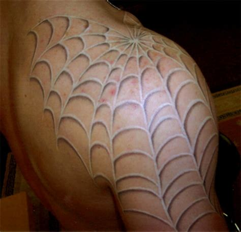 what do spider web tattoos mean web designs rosary around neck meaning