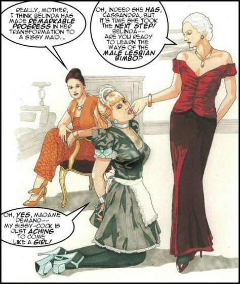 cartoon sissy trap prettysissydani art from centurian publications dialogue