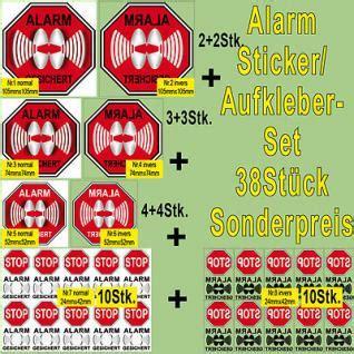 Vw Alarmanlage Aufkleber by Alarmgesichert Aufkleber G 252 Nstig Kaufen Bei Yatego