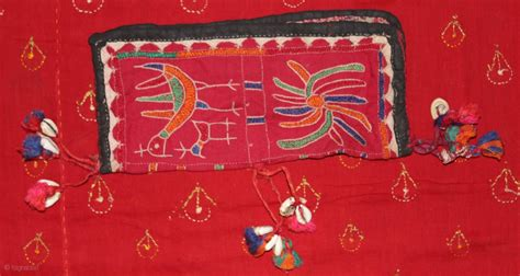 Tooth Brush Holder 1512 Nagata banjara embroidery neem twig pouch coin purse toothbrush holder from karnataka india cotton on