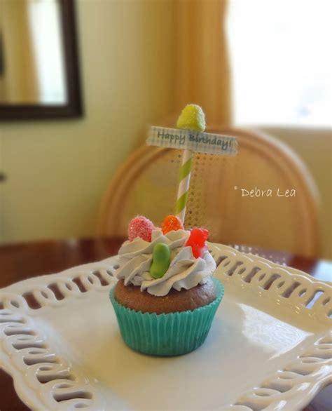 Fakes A Three Way For Bday by Cupcake Birthday Carnival Circus Keepsake Photo