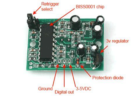 photoresistor hc sr501 pir motion sensor tutorial