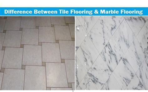 Difference Between Tile Flooring & Marble Flooring