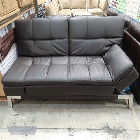 costco couch bed sofa bed costco pin leather futons costco image search