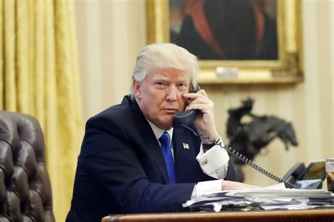 what phone does president trump use here s how trump has handled 6 phone calls with major