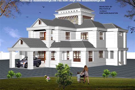 beautiful house plans beautiful house plans 4 bhk home design indian flat roof