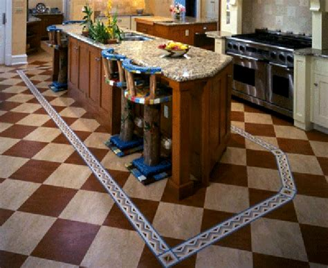 How To Make Linoleum Floors Shine by Linoleum Shiny Floors That Last A Lifetime Kitchen Clan