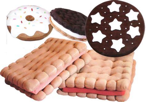 cuscini forma biscotti food design colazione