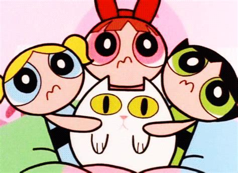 gif buttercup cat girls animated gif  gifer  aragal