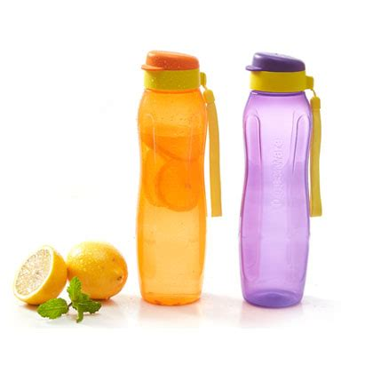 New Eco Bottle by New Eco Bottle 1l Set Tupperware Promo Indonesia