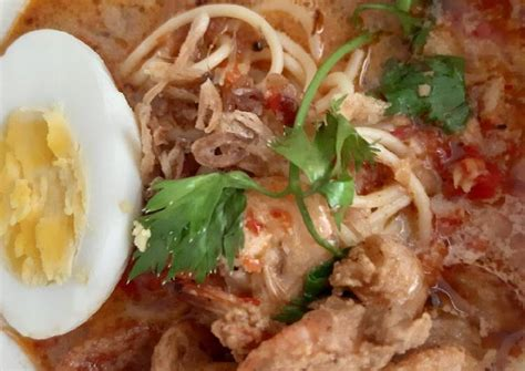 resep laksa udang kriuk oleh dian inezie cookpad