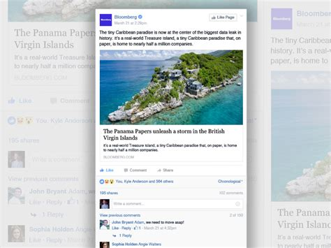Facebook News Item Template Sketch Freebie Download Free Resource For Sketch Sketch App Sources News Feed Template
