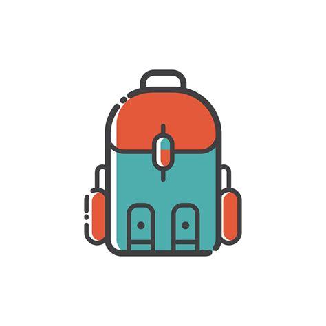 Sign Backpack free vector graphic backpack icon design symbol bag