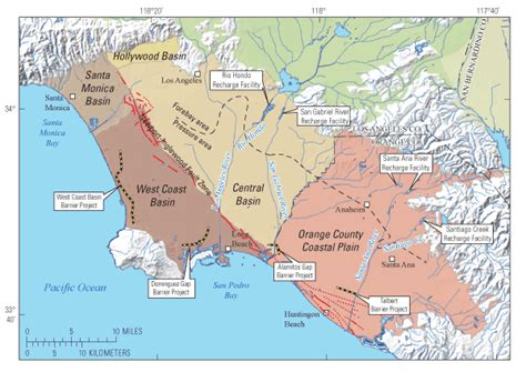 map of los angeles basin opinions on los angeles basin