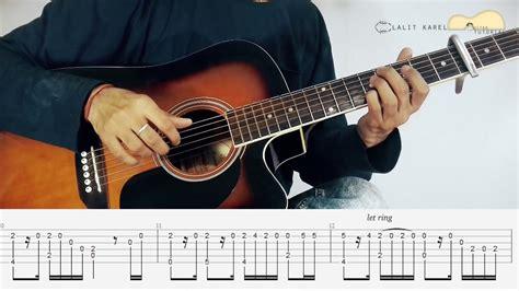 guitar tutorial jeena jeena jeena jeena atif aslam fingerstyle guitar lessons
