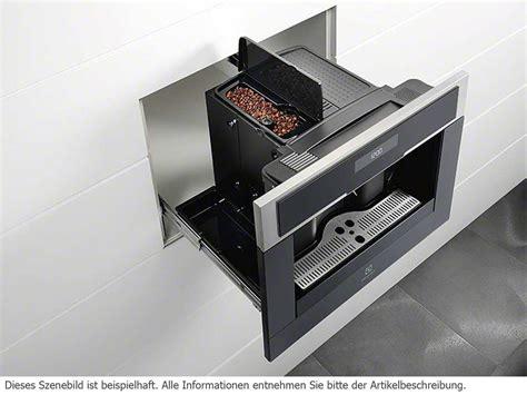 einbau kaffeevollautomat aeg electrolux ebc54523ax einbau espresso