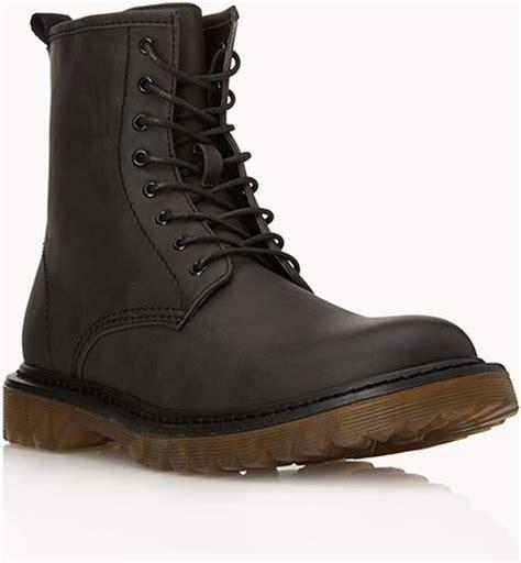 retro combat boots 21men retro combat boots in black for lyst